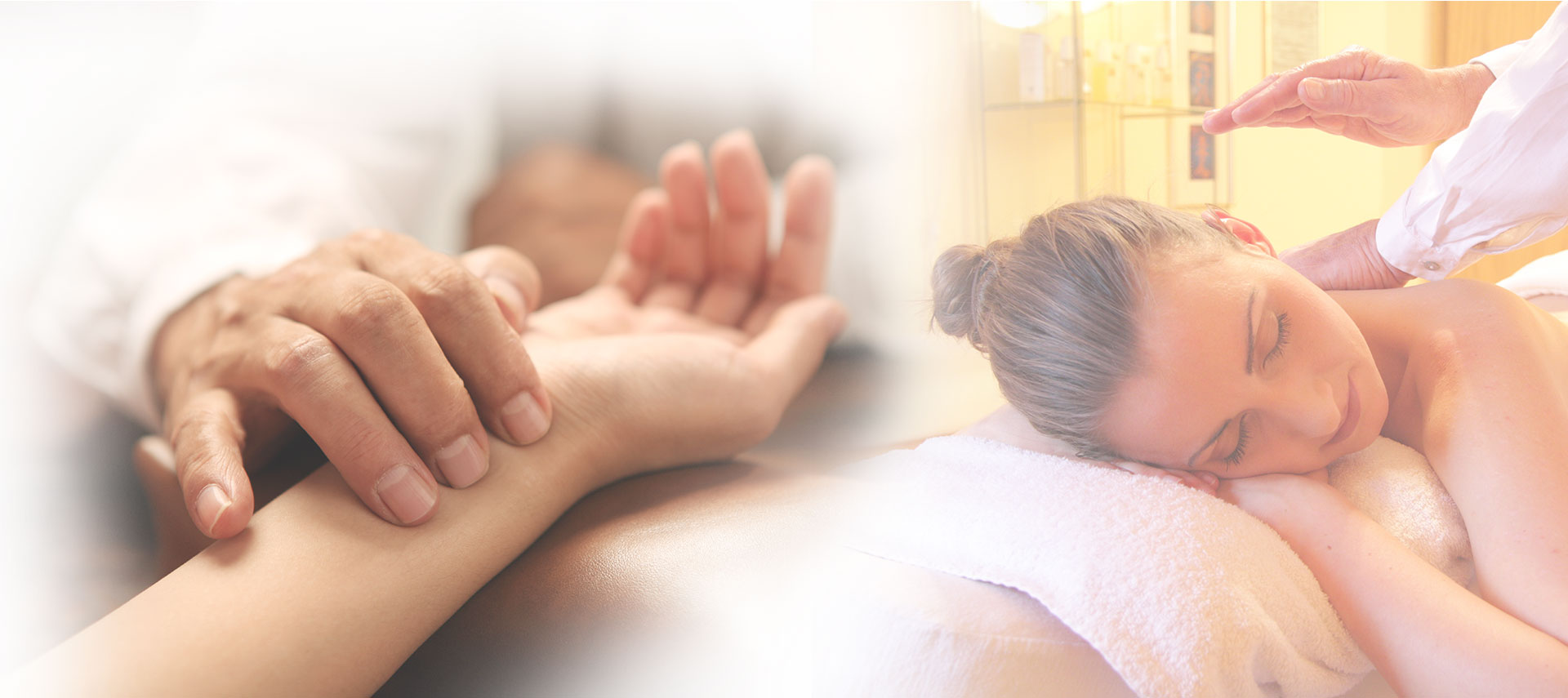 Mainslider - hand & massage